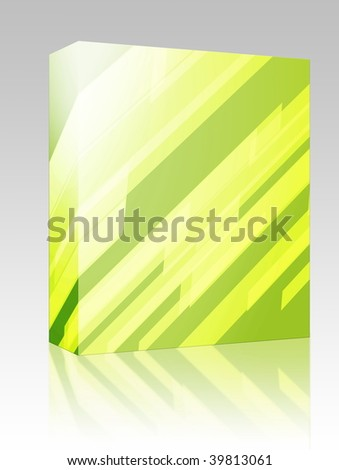 Software package box Abstract wallpaper illustration of geometric dynamic shapes - stock photo