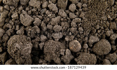 soil as background - stock photo