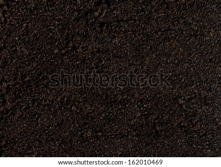 soil for planting background - stock photo