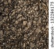 Soil texture as a background - stock photo