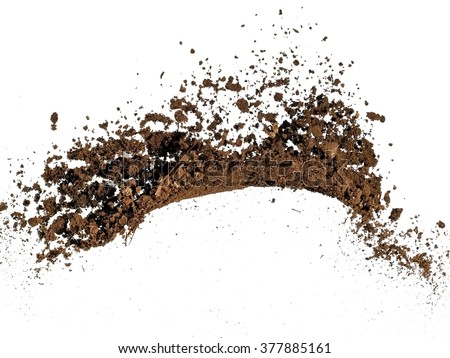 Soil up - stock photo