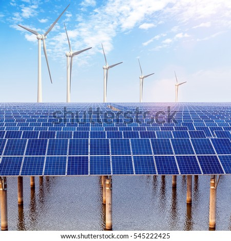 Solar and wind power generation