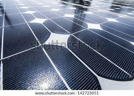 solar cell 03 - stock photo
