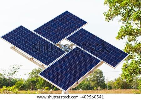 Solar Cell - stock photo