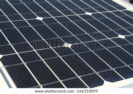 solar cell background - stock photo
