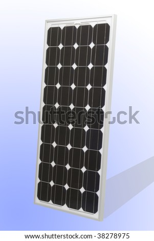 Solar Cell panel - stock photo