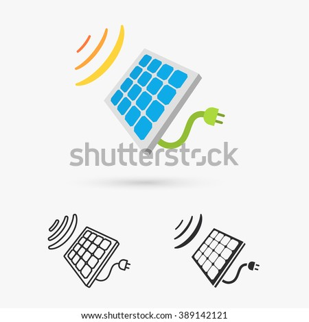 Solar Cell Panel. Energy
