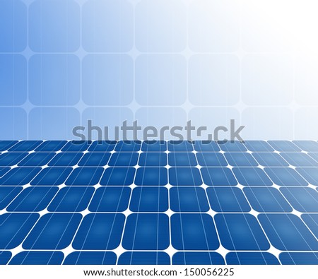 solar cell, use as background - stock photo