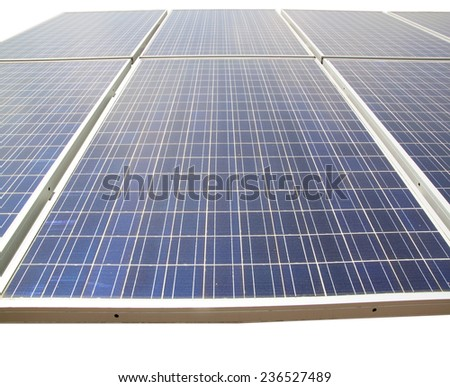 Solar Cells texture background.