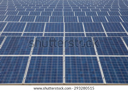 Solar cells texture background