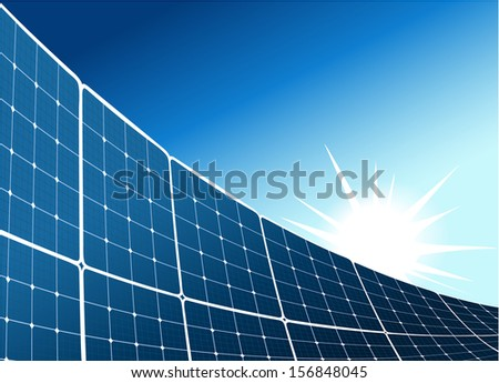 Solar collector background