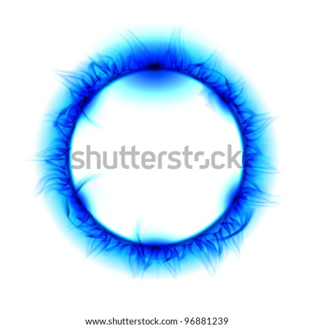 Solar eclipse. Illustration on white background for design - stock photo