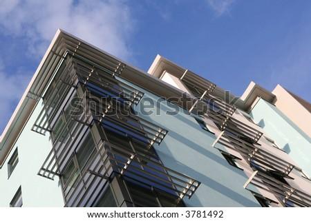 Solar Louvres - stock photo