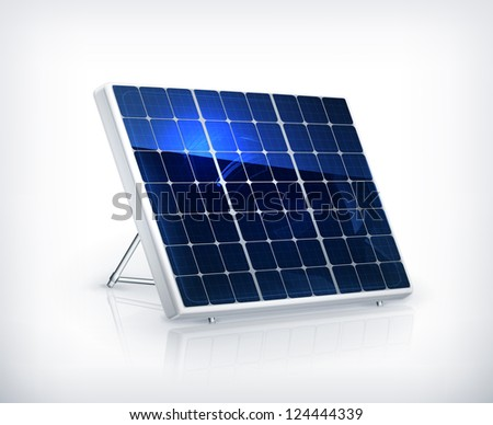 Solar panel, bitmap copy