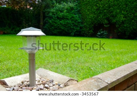 Solar Panel Garden Light / Lamp