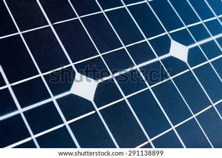solar panel or solar panel large background. alternative energy - stock photo