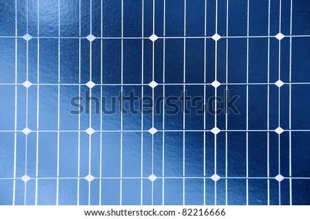 Solar panel - texture - stock photo