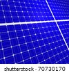 solar panels. alternative sources of energy - stock photo