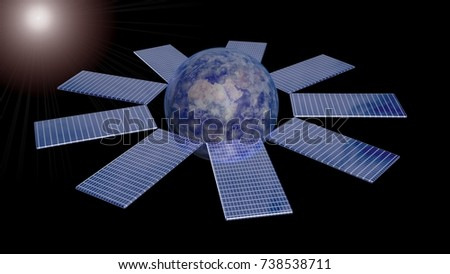Earths Orbit Around Sun Stock Images Royalty Free Images