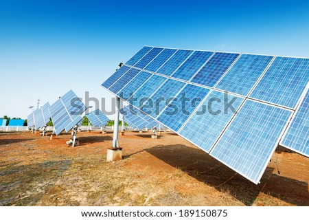 Solar panels - tracking system