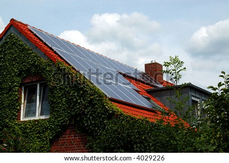 Solar-power - stock photo
