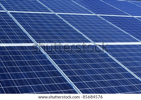 Solar power background
