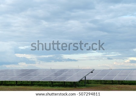 Solar Power in Thailand.