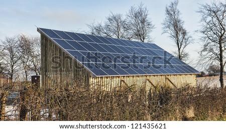 Solar Power Panels Producing Energy Power Stock Photo (Royalty Free ...