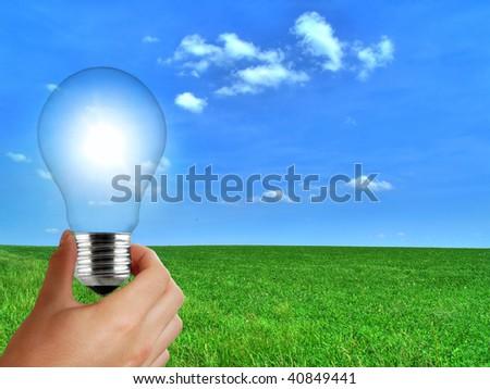 solar renewable energy - stock photo