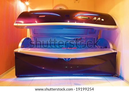 solarium - stock photo