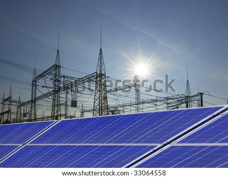 solarworld - stock photo