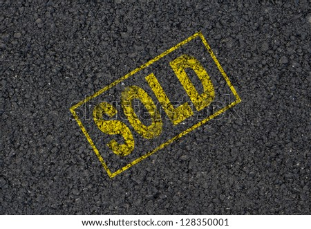 Sold background