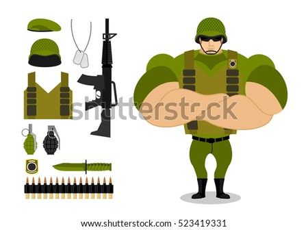 Army Green Beret Stock Photos, Royalty-Free Images & Vectors ...