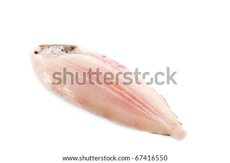 sole fish ready to cook - stock photo