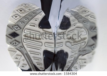 Running Shoes Soles Sole of Running Shoe And Its