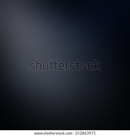 solid black background with faint white corner spotlight design, elegant sophisticated clean looking background style, abstract black background - stock photo