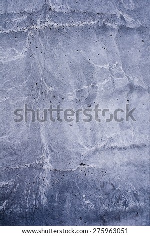Solid concrete wall - stock photo