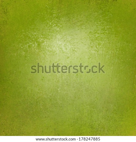 solid green background wall paint with detailed vintage grunge background texture stain for luxury web background layout design - stock photo