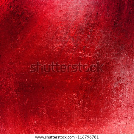 solid red background abstract distressed antique dark background texture and grunge black edges on elegant wallpaper design, paint spotlight background ad template with light red backdrop color layout - stock photo