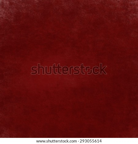 Solid Red Background Christmas Color With Dark Black Edges And Vintage Grunge Texture