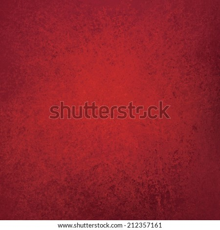 solid red background layout with faint messy grunge texture design