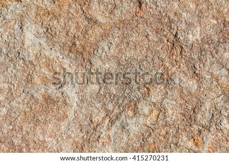 Solid surface mineral stone macro brown texture - stock photo