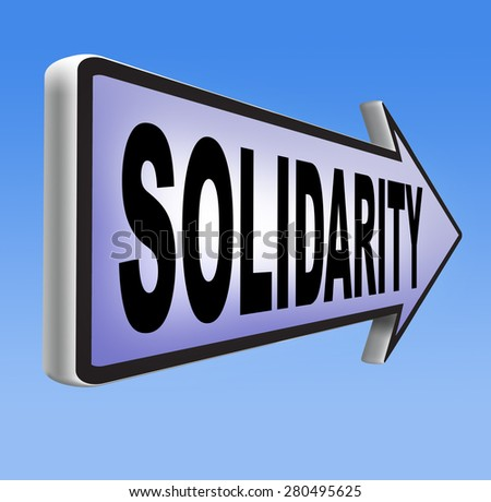 solidarity social security international community and cooperation - stock photo
