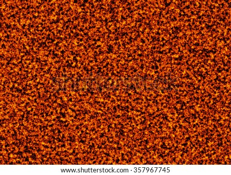 solidified hot coal fire texture background - stock photo