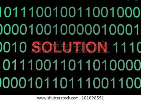 Solution - stock photo