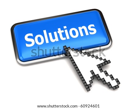Solution button and arrow cursor