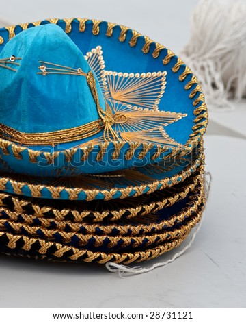 Sombreros - stock photo