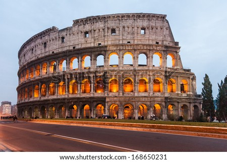 Some beautiful famous places in rome