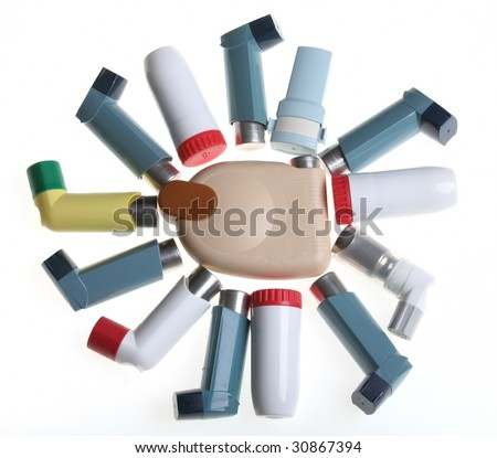 Some colored Inhalers (sun form)