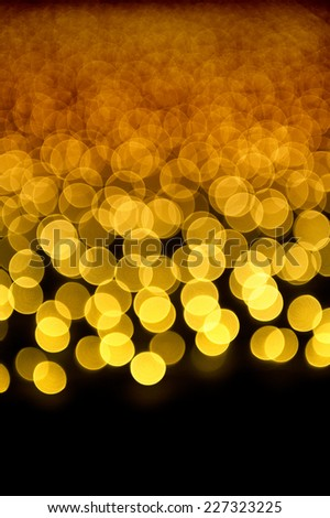 some defocused lights / copyspace available / extend as you wish - stock photo
